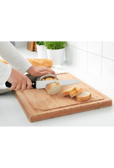 Ikea Vardagen 23 cm Ekmek Bıçağı Koyu Gri 00294724