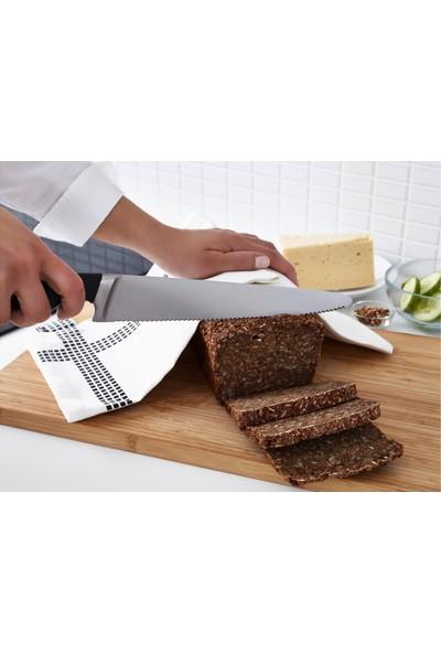 Ikea Vörda 23 cm Ekmek Bıçağı Siyah 10289232