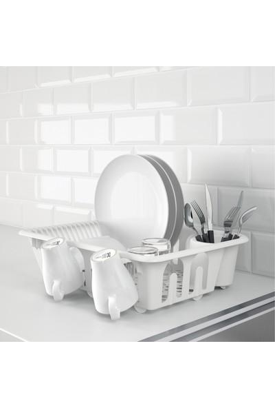 IKEA Flundra Beyaz Bulaşıklık 36x46 cm