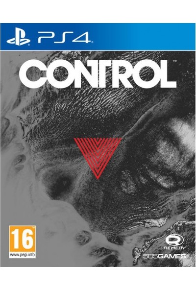 Control Deluxe Steelbook Edition PS4 Oyun