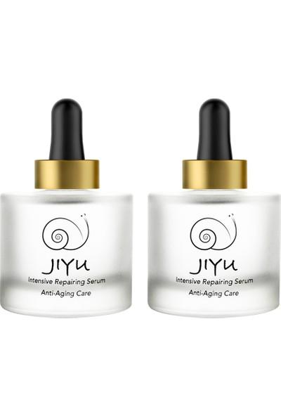 Jiyu Intensive Repairing Serum Anti Aging Care 30 ml 2x1 Avantajlı Paket (97% Snail Secretion Filtrate) / (%97 Salyangoz Özütü Içerir)