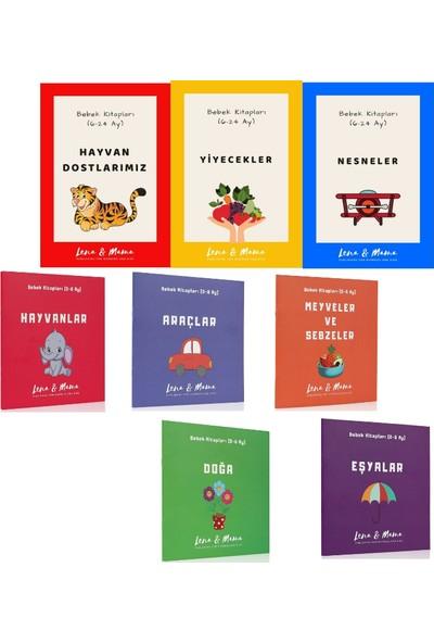 Lena & Mama Bebek Kitapları Seti (0-24 Ay) - 8 Kitap