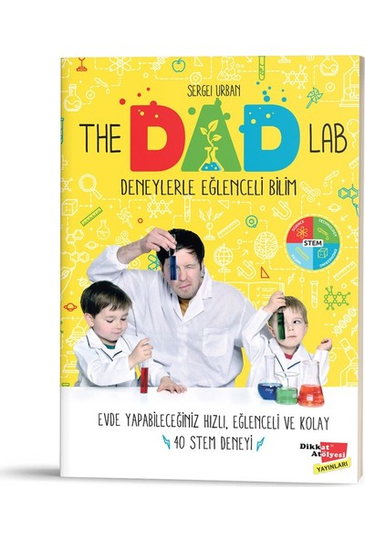 Ankaflex Yayınları The Dad Lab Deneylerle Eğlenceli Bilim