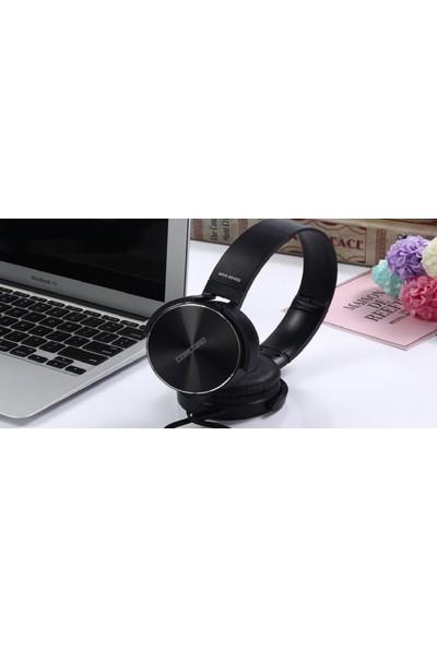 Concord C-908 Bilgisayar MP3 Mikrofonlu Kulaklık - Siyah