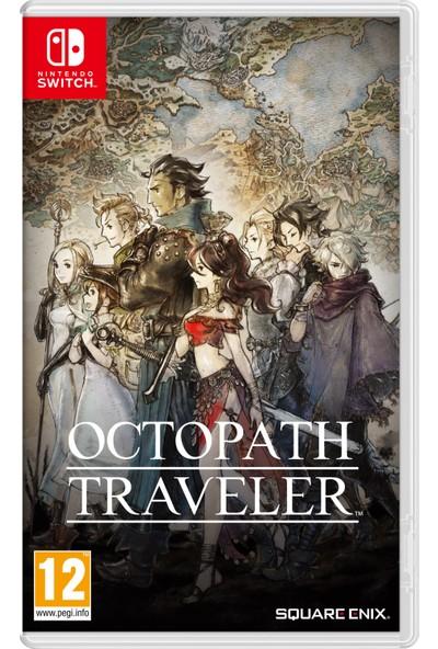Octopath Traveler Switch Oyun (Resmi Distribütör Ürünü)