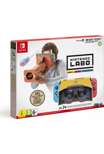 Nintendo Labo VR Başlangıç Seti (Resmi Distribütör Ürünü)