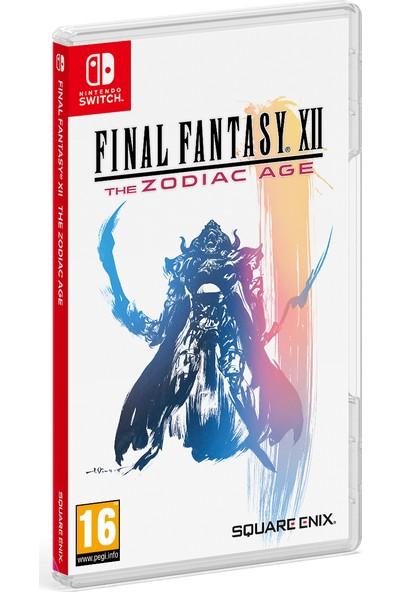 Final Fantasy XII The Zodiac Age Switch Oyun (Resmi Distribütör Ürünü)