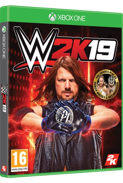 WWE 2K19 Standard Edition Xbox One Oyun (Resmi Distribütör Ürünü)