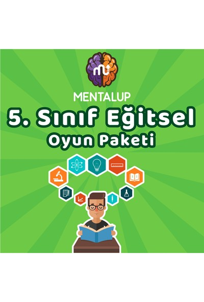 MentalUP 5. Sınıf Eğitsel Oyun Paketi