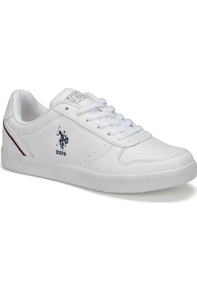 U.S. Polo Assn. Jackson 9Pr Beyaz Kadın Sneaker Ayakkabı