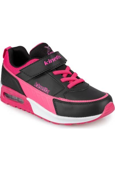 Kinetix Hazel 9Pr Siyah Kız Çocuk Spor Ayakkabı