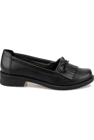 Polaris 92.151055Cz Siyah Kadın Loafer Ayakkabı