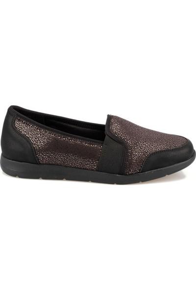 Travel Soft Trv920055P Siyah Kadın Basic Comfort Ayakkabı