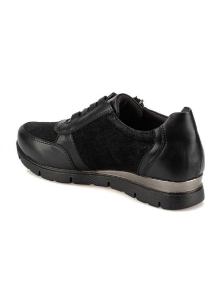 Travel Soft Trv920063 Siyah Kadın Sneaker Ayakkabı