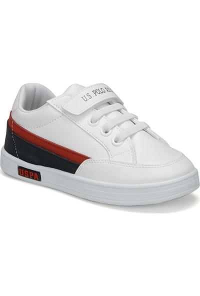 U.S. Polo Assn. Jamal 9Pr Beyaz Pe Spor Ayakkabı