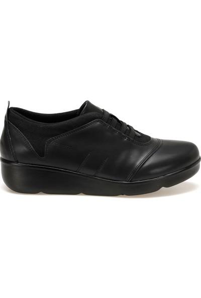 Travel Soft Trv920015 Siyah Kadın Dolgu Topuk Ayakkabı