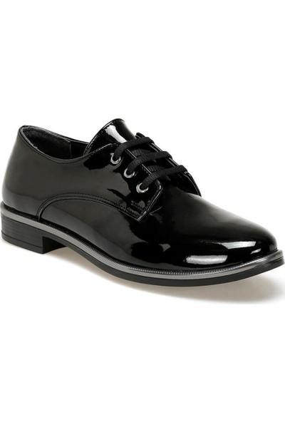 Butigo 19K-198 Siyah Kadın Oxford Ayakkabı