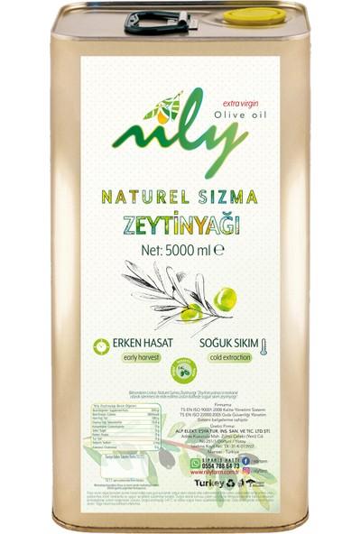 Nily Soğuk Sıkım Sızma Zeytinyağı 5 lt Trilye