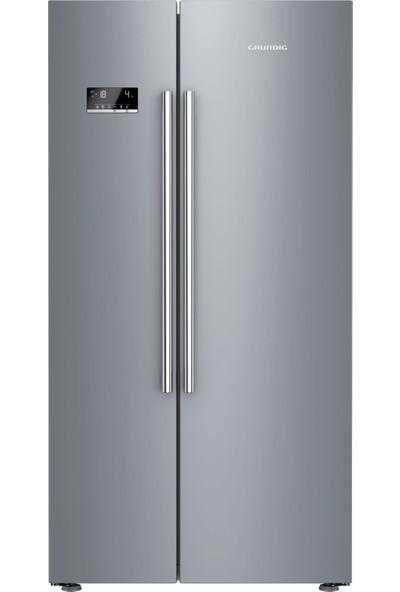 Grundig GSND 6383 S A++ Gardırop Tipi No Frost Buzdolabı