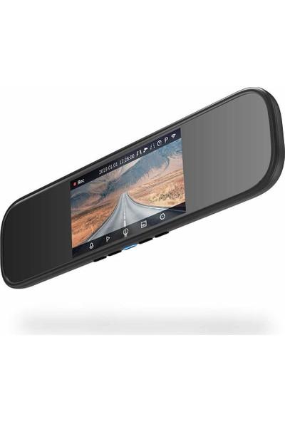 Xiaomi 70mai D04 Aynalı Araç İçi Kamera - 140° Geniş Açı Lens - 1600p - Distribütör Garantili