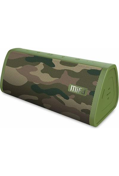 Mifa A10 Taşınabilir Kablosuz Bluetooth Hoparlör - 10W - IP45 Suya Dayanıklı - TWS - Kamuflaj