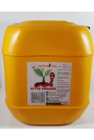 Aktaşsol Organik Sıvı Solucan Gübresi 10 lt