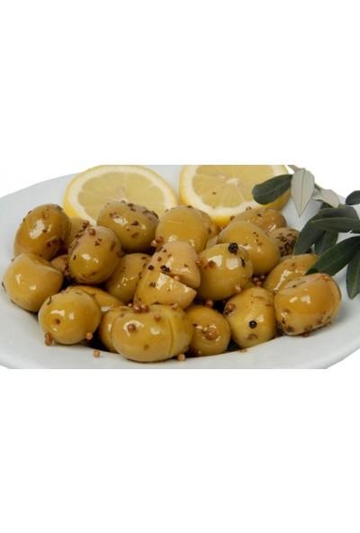 Memleket Çiftliği Doğal Fermente Yeşil Kırma Domat Zeytin 1 kg