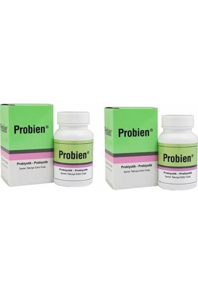 Probien Probiyotik Prebiyotik Sinbiyotik 30 Kapsül 2 Adet