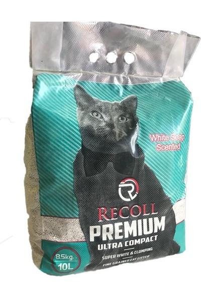 Recoll 10 l Bentonit Sabun Kokulu Topaklaşan Kedi Kumu