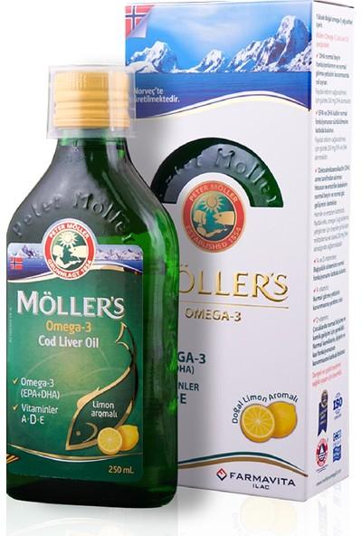 Möller's Omega 3 Balık Yağı 250 ml