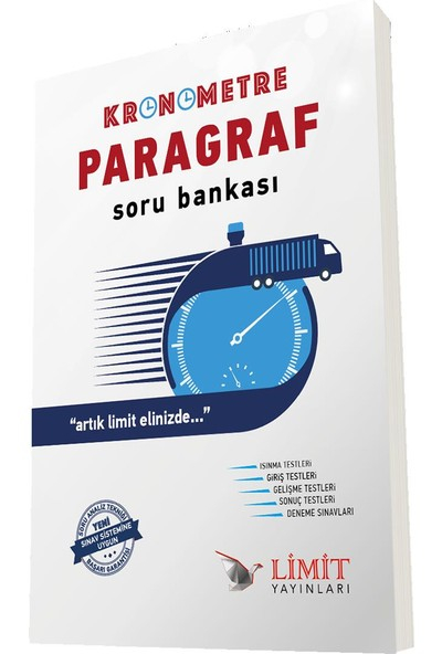 Kronometre Paragraf Soru Bankası Limit Yayınları