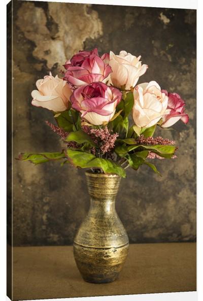 Hepsi Home Çiçek Kanvas Tablo