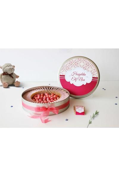 Hayal Sepetim Kız Bebek Çikolatası 54 Madlen+200 gr Draje