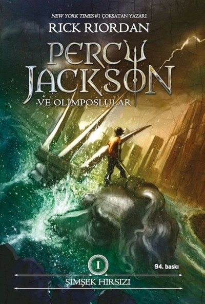 Percy Jackson - Şimşek Hırsızı 1 - Rick Riordan