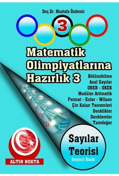 Altın Nokta Matematik Olimpiyatlarına Hazırlık -3 Sayılar Teorisi
