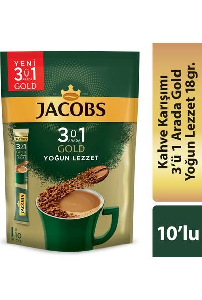 Jacobs 3in1 Gold Yoğun Lezzet 10'lu Paket