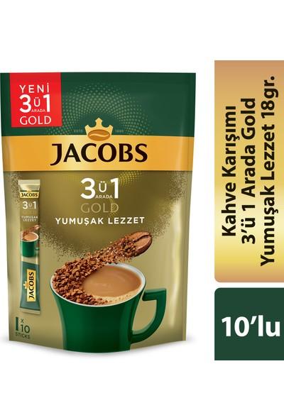 Jacobs 3in1 Gold Yumuşak Lezzet 10'lu Paket