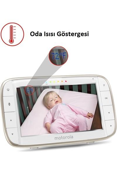 Motorola MBP 855 5 İnç LCD Ekran Monitör + HD Wİ-Fİ Uzaktan Bağlantılı Pilli Kamera