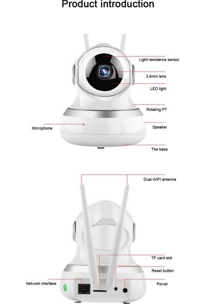 Paletech DO-IP20HD Hareketli Kablosuz Antenli Gece Görüşlü Güvenlik ve Bebek Kamerası