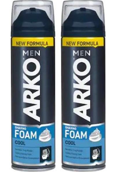 Arko Men Tıraş Köpüğü Cool 200 ml 2'li