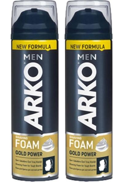 Arko Men Tıraş Köpüğü Gold 200 ml 2'li