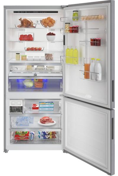Grundig GKNE 7200 I A++ 720 lt Duo No-Frost Buzdolabı (Parmak İzi Bırakmayan Inox)
