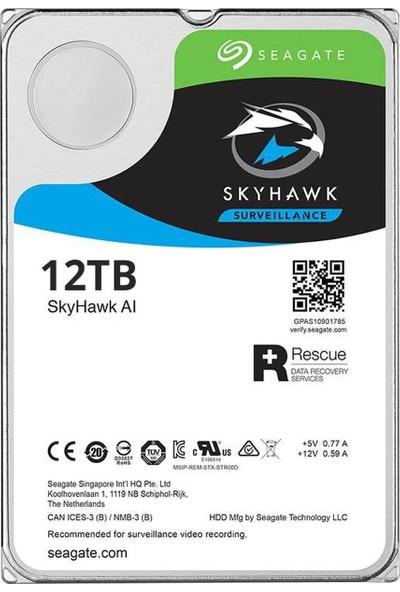 """Seagate SkyHawk 10TB Sata 3 3.5"""" 7200RPM Hard Disk ST10000VE0008"""