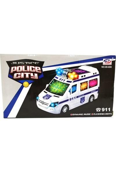 Mega Oyuncak Pilli Büyük Polis Arabası