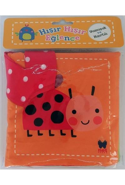 Hışır Hışır Eğlence Uğur Böceği Kumaş Bez Kitap