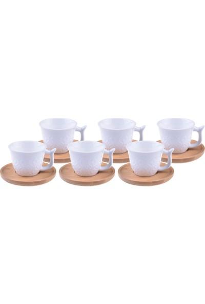 Bambum Sacho - 6 Kisilik Kahve Fincan Takimi
