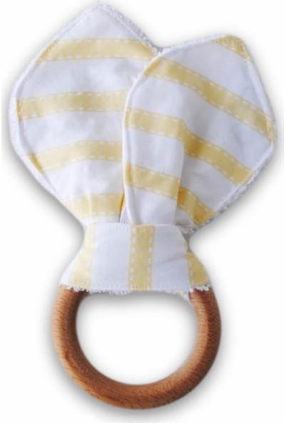 Kiduga Kumaş Ahşap Diş Kaşıyıcı Liny