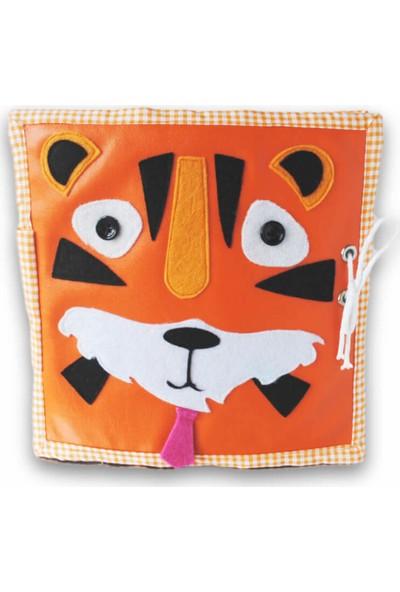 Kiduga Montessori Bebek & Çocuk Kitabı Roar Zeka & Beceri Geliştirici