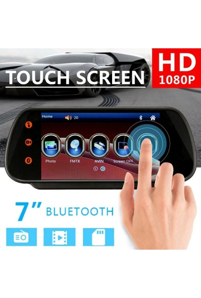 Audiomax MX-707 Bt 7 Inch Dokunmatik Ekran
