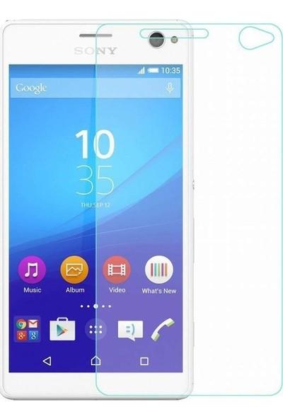 Etech Sony Xperia C4 Glass Ekran Koruyucu